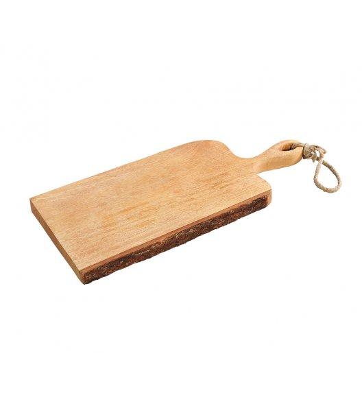 ZASSENHAUS Deska do serwowania z rączką z drewna mango 46x19x2,5 cm / FreeForm
