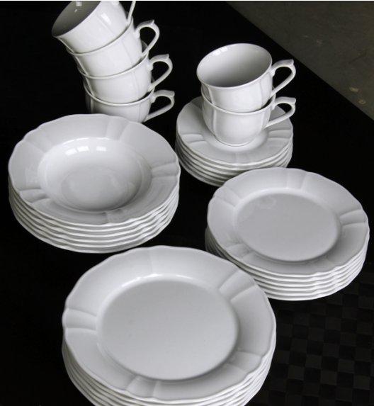 WYPRZEDAŻ! LUBIANA MARIA Serwis obiadowo-kawowy 30 el / 6 osób / porcelana