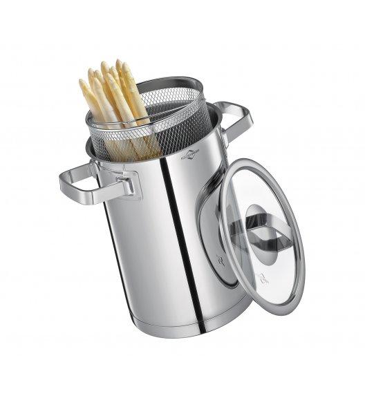 KUCHENPROFI SAN REMO Garnek do gotowania szparagów ⌀ 16 cm / indukcja / FreeForm