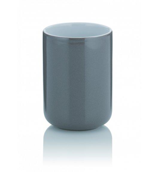 KELA Ceramiczny kubek łazienkowy ⌀ 7,5 cm, szary ISABELLA / FreeForm
