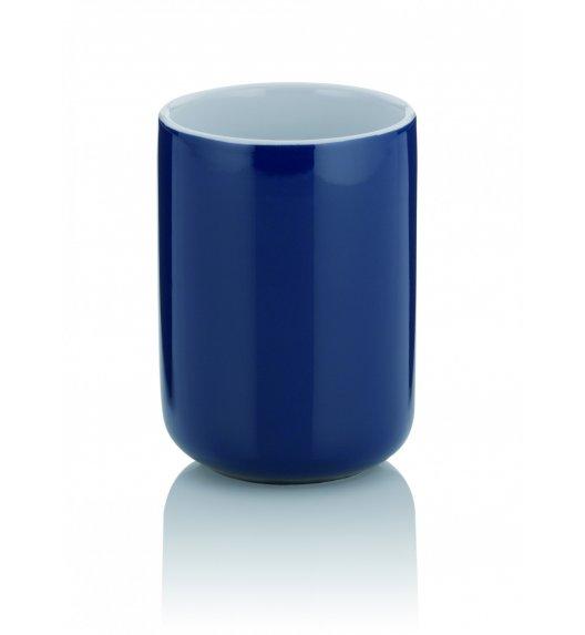 KELA Ceramiczny kubek łazienkowy ⌀ 7,5 cm, granatowy ISABELLA / FreeForm