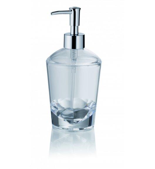 KELA Akrylowy dozownik na mydło w płynie 0,40 l LETICIA / FreeForm