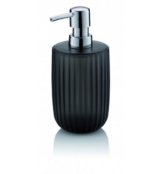 KELA Dozownik ze szkła akrylowego na mydło w płynie 0,45 l LAMINA antracyt / FreeForm