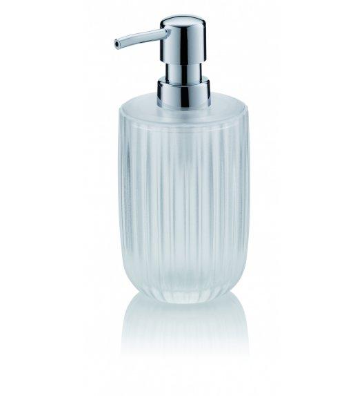 KELA Dozownik ze szkła akrylowego na mydło w płynie 0,45 l LAMINA transparentny / FreeForm
