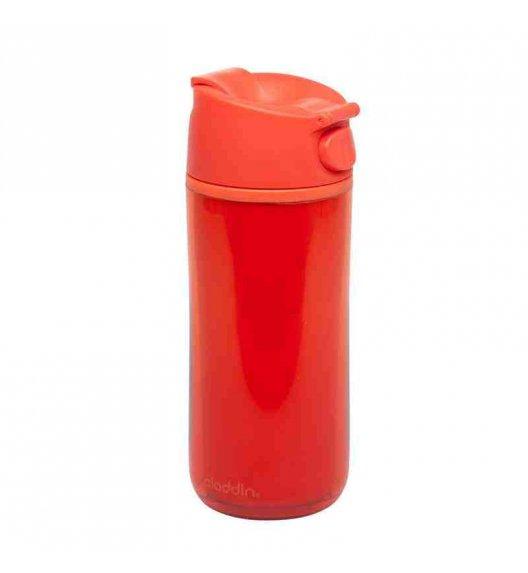 ALADDIN Kubek termiczny plastikowy FLIP & SIP 0,35 l czerwony / FreeForm