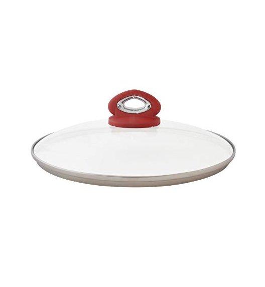 BIALETTI RED Pokrywka do naczyń kuchennych 28 cm P28 / scapol