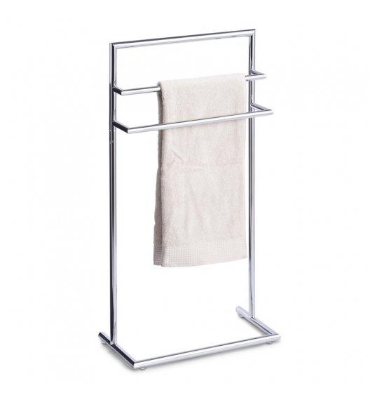 ZELLER Potrójny stojak na ręczniki 83 cm / stal chromowana