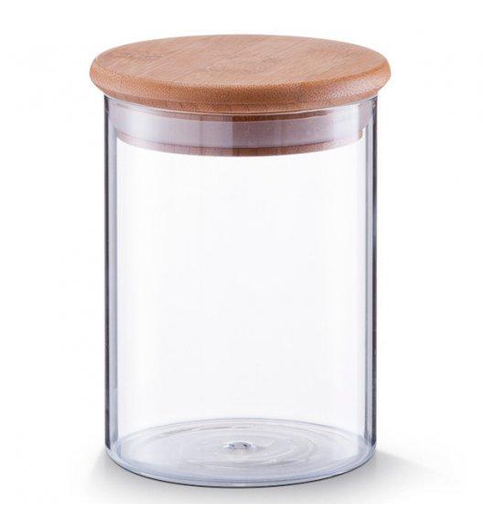 ZELLER Pojemnik z bambusową pokrywką 750 ml / szkło
