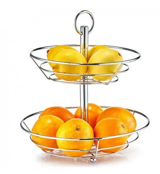 ZELLER Metalowy kosz na owoce 2-poziomowy 26 x 29 cm