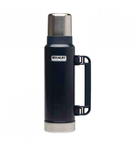 STANLEY CLASSIC Stalowy termos w kolorze granatowym 1,3 l - najwyższa jakość / FreeForm