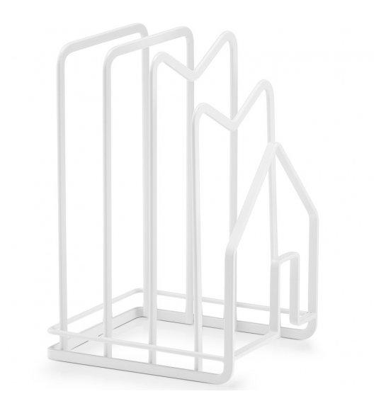 ZELLER Suszarka na naczynia 21,5 cm biała / metal