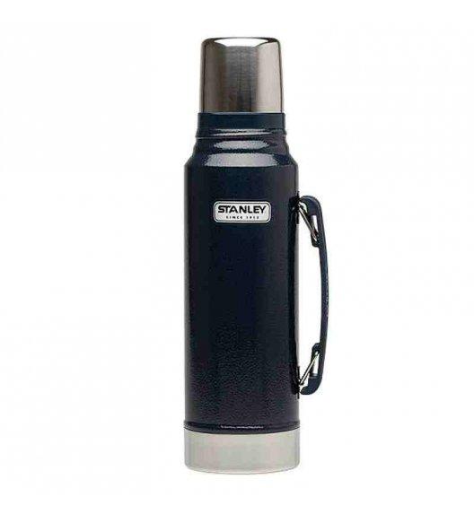 STANLEY CLASSIC Stalowy termos w kolorze granatowym 1 l - najwyższa jakość / FreeForm