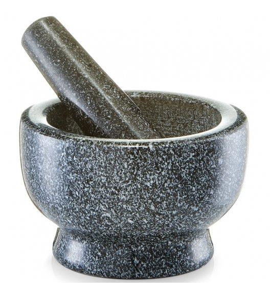 ZELLER GRANIT Moździerz kuchenny z tłuczkiem Ø13 x 8 cm / antracytowy