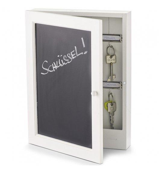 ZELLER BLACKBOARD Szafka na klucze + tablica do pisania 22 x 5 x 30 cm / MDF