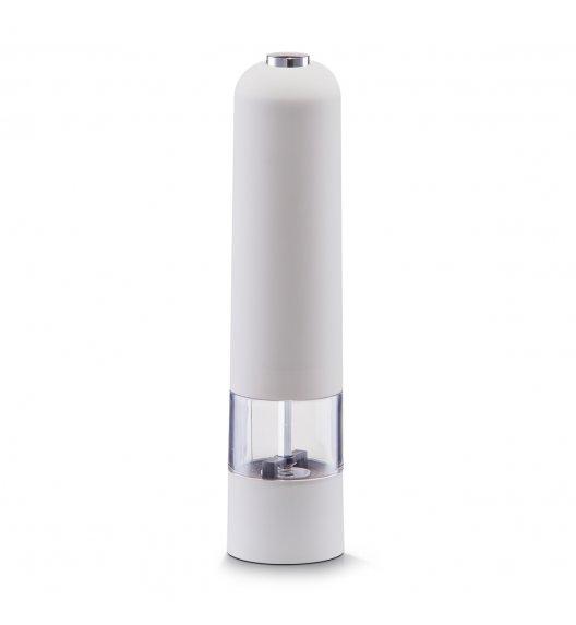ZELLER Elektryczny młynek do przypraw 22,3 cm biały / tworzywo sztuczne