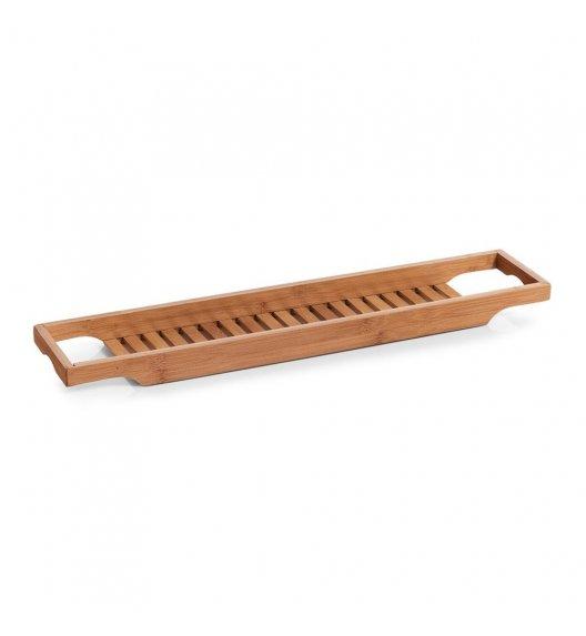 ZELLER Taca do wanny 70 x 14 x 4,5 / brązowa / drewno bambusowe