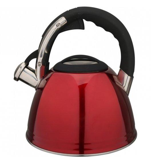 KonigHOFFER FIRENZE RED Czajnik ze stali nierdzewnej 2,5 L / indukcja