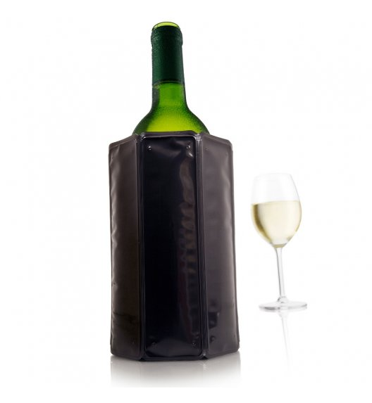 VACU VIN Aktywny schładzacz do wina Czarny JH / tworzywo sztuczne / LENA