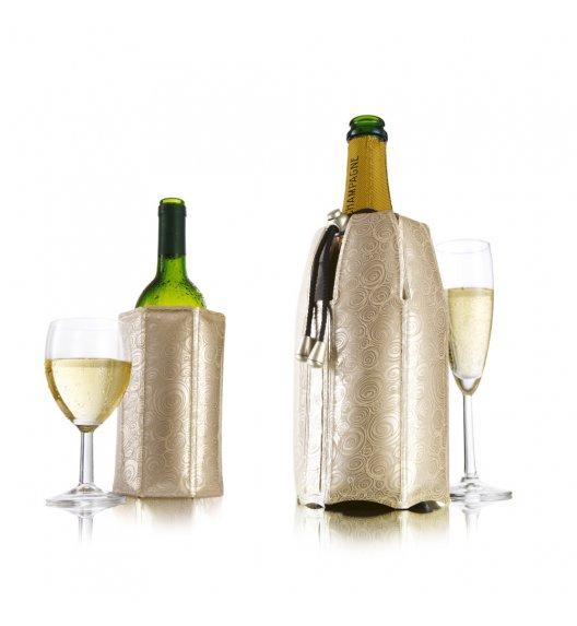 VACU VIN Komplet aktywne schładzacze do wina i szampana Platynowe / tworzywo sztuczne / LENA