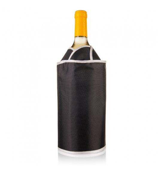 VACU VIN Aktywny schładzacz do wina Tulipan czarny / tworzywo sztuczne / LENA
