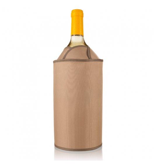 VACU VIN Aktywny schładzacz do wina Tulipan jasny brązowy / tworzywo sztuczne / LENA
