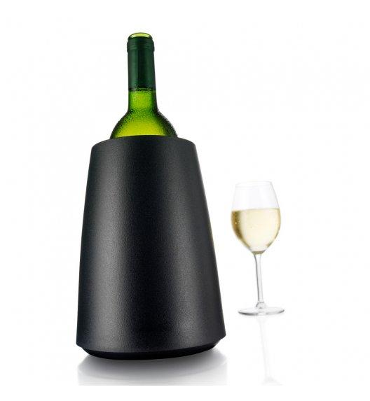 VACU VIN Aktywny schładzacz do wina Elegant czarny / tworzywo sztuczne / LENA
