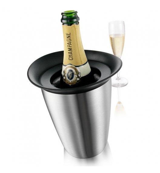 VACU VIN Aktywny schładzacz do szampana Elegant srebrny / stal nierdzewna / LENA