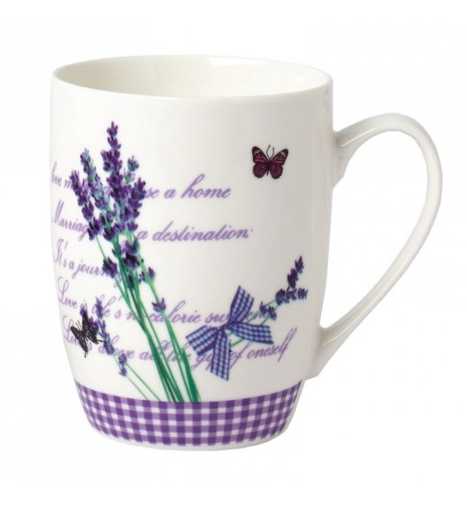 TADAR LAVANDA Kubek 340 ml / porcelana Bon China