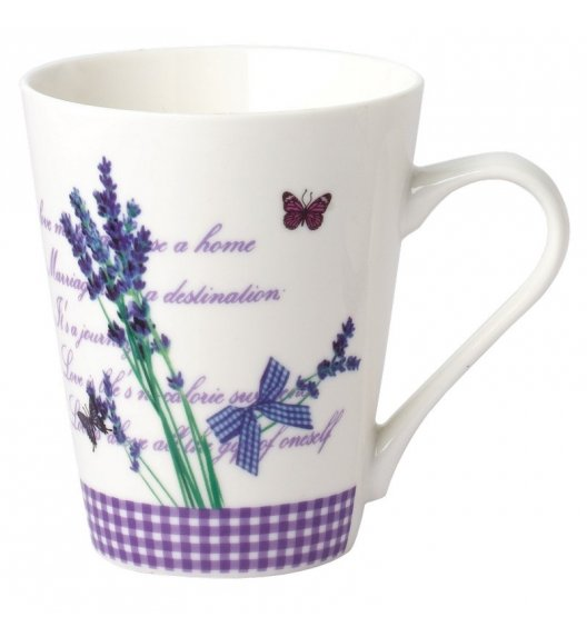 TADAR LAVANDA Kubek 310 ml / porcelana Bon China