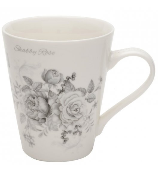 TADAR SHABBY ROSE Kubek 310 ml / porcelana Bon China