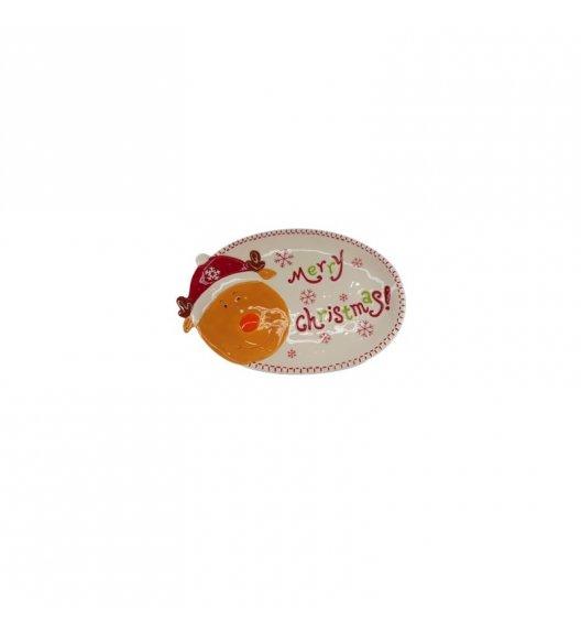 TADAR RENIFER Talerz / półmisek ozdobny 28 cm / ceramika
