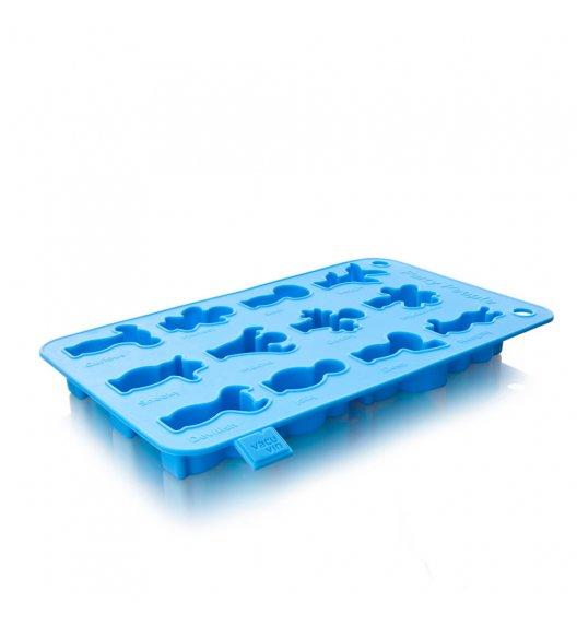 VACU VIN Foremka do kostek lodu IMPREZOWE LUDKI / silikon / LENA