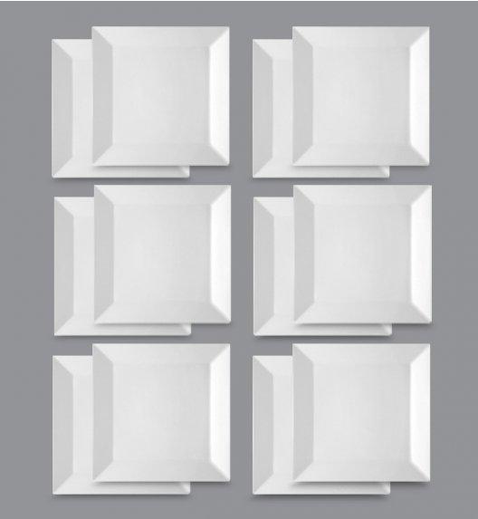 LUBIANA CLASSIC Komplet Talerze deserowe 21,5 cm / 12 el / 12 os / porcelana