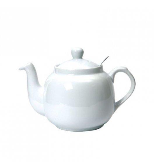 WYPRZEDAŻ! LONDON POTTERY Dzbanek do herbaty z filtrem FARMHOUSE FILTER 0,6 l biały / FreeForm