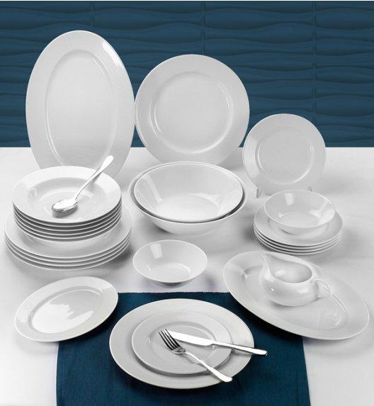 CHODZIEŻ YVETTE LINEA E755 Serwis obiadowy 44 el / 12 osób / porcelana