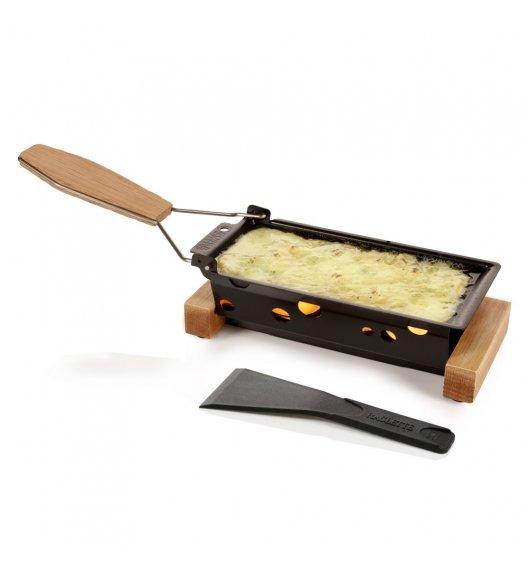 BOSKA PARTYCLETTE TO GO Zestaw do raclette / metal + drewno dębowe / LENA