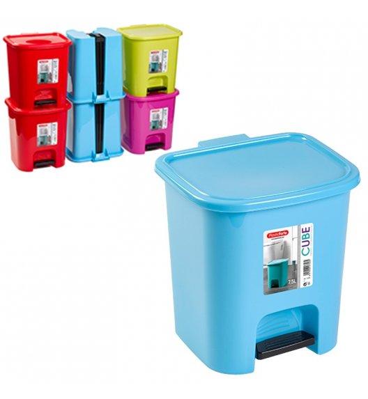 TADAR PEDUNCOLO Kosz na śmieci 7,5 l / wygodne otwieranie / mix kolorów
