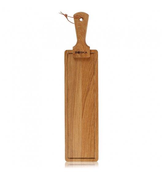 BOSKA FRIENDS Deska do serwowania sera i przekąsek 53 cm / drewno dębowe / LENA