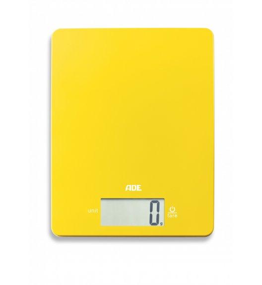 ADE LEONIE Waga kuchenna 17 x 22 cm / żółta / tworzywo sztuczne  / FreeForm