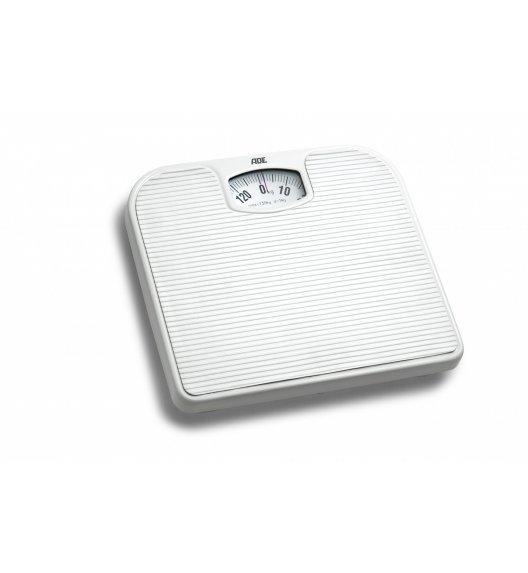 ADE NINA Mechaniczna waga łazienkowa 27 x 24 cm / biała / FreeForm
