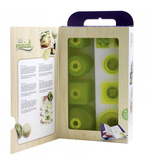 MASTRAD Zestaw do wycinania ravioli (10 części) / zielony / LENA