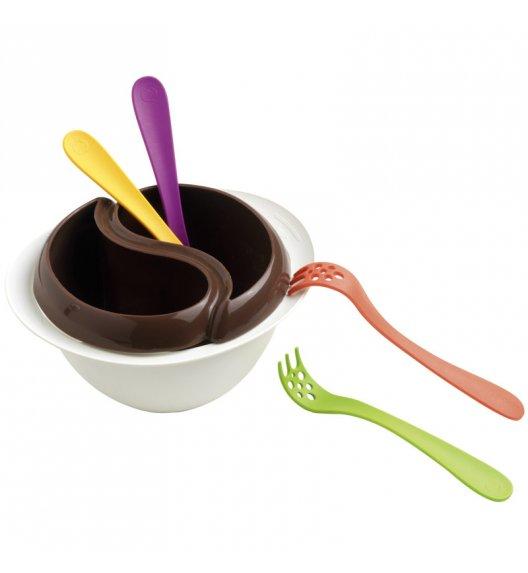MASTRAD Zestaw do czekoladowego fondue z mikrofali / 5 elementów / LENA