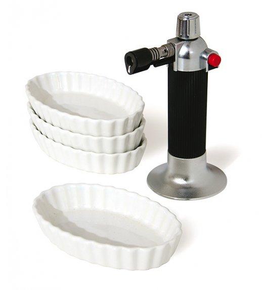 MASTRAD Zestaw do Creme brulee / ceramika / LENA