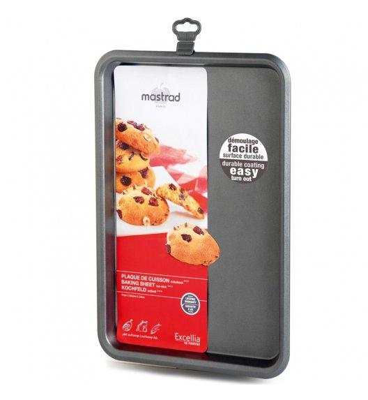 MASTRAD Forma płaska do ciasta 41 cm / metal / ciemnoszara / LENA