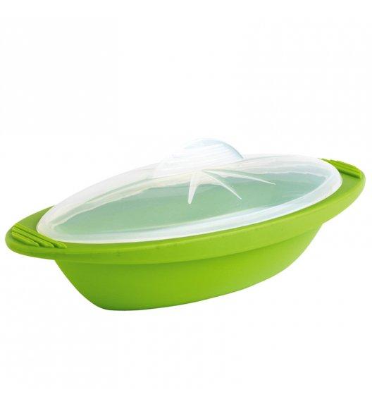 MASTRAD Podłużne naczynie do zapiekania / średnie / zielone / tworzywo sztuczne / LENA