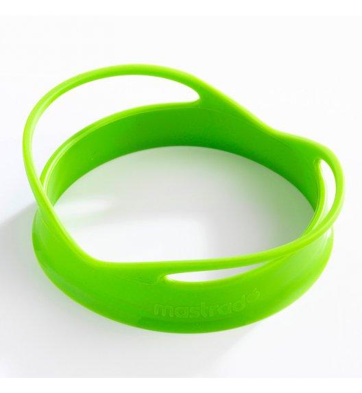 MASTRAD Zestaw 2 foremek do jajek w kształcie koła / zielone / tworzywo sztuczne / LENA