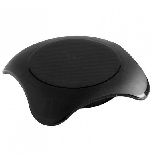 MASTRAD Podgrzewacz do kuchenki mikrofalowej magma / silikon / czarny / LENA