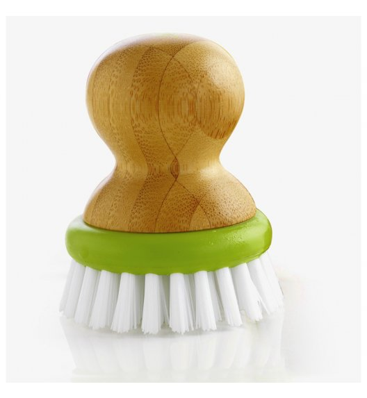 MASTRAD Szczotka do mycia warzyw z wymienną główką Ø 6cm / bambus / LENA