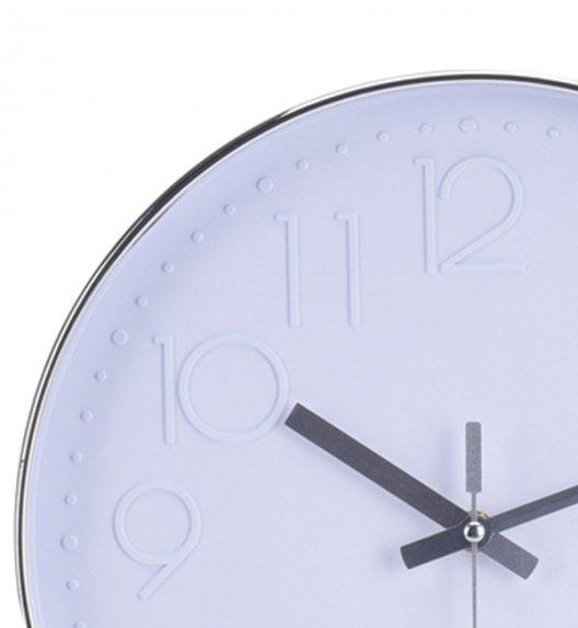 WYPRZEDAŻ! HOME & STYLING COLLECTION Zegar ścienny 30 cm biały / Koopman