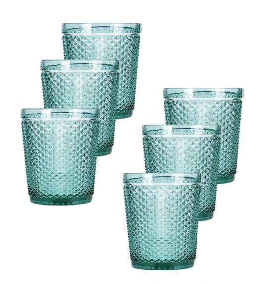 HOME&STYLING COLLECTION Komplet 6 szklanek 270 ml / imitacja kryształu / Koopman